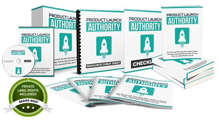 Product Launch Authority PLR Package by Aurelius Tjin