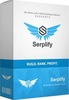 Serplify by Mo Miah, John Gibb and Joshua Zamora
