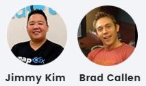 Jimmy Kim and Brad Callen